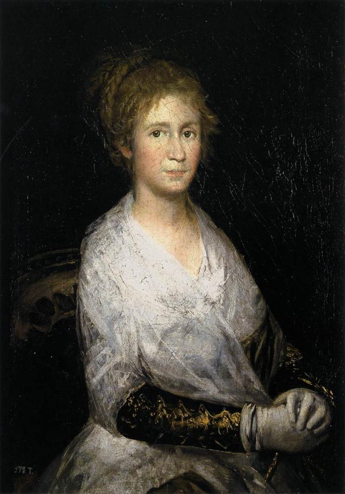 Josefa Bayeu Or Leocadia Weiss by Francisco José de Goya y Lucientes