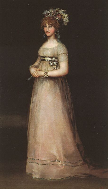 The Countess Of Chinchon by Francisco José de Goya y Lucientes