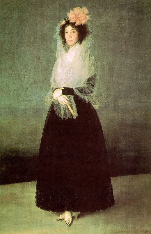 The Countess Of El Carpio by Francisco José de Goya y Lucientes