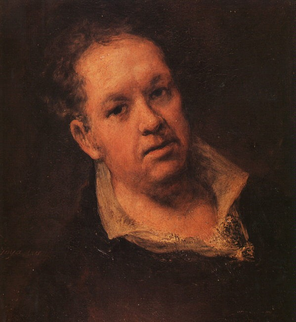 Self Portrait 2 by Francisco José de Goya y Lucientes