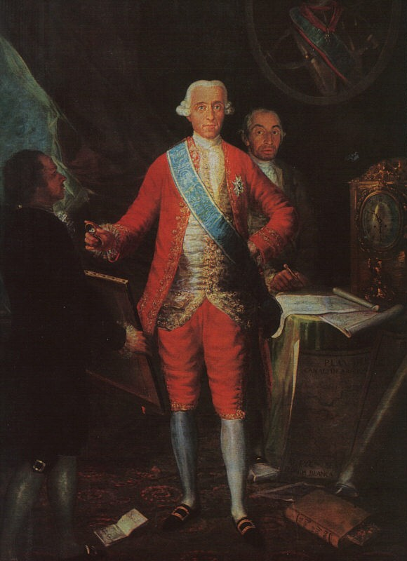 The Count Of Floridablanca by Francisco José de Goya y Lucientes