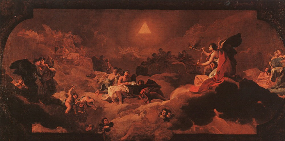 The Adoration Of The Name Of The Lord by Francisco José de Goya y Lucientes