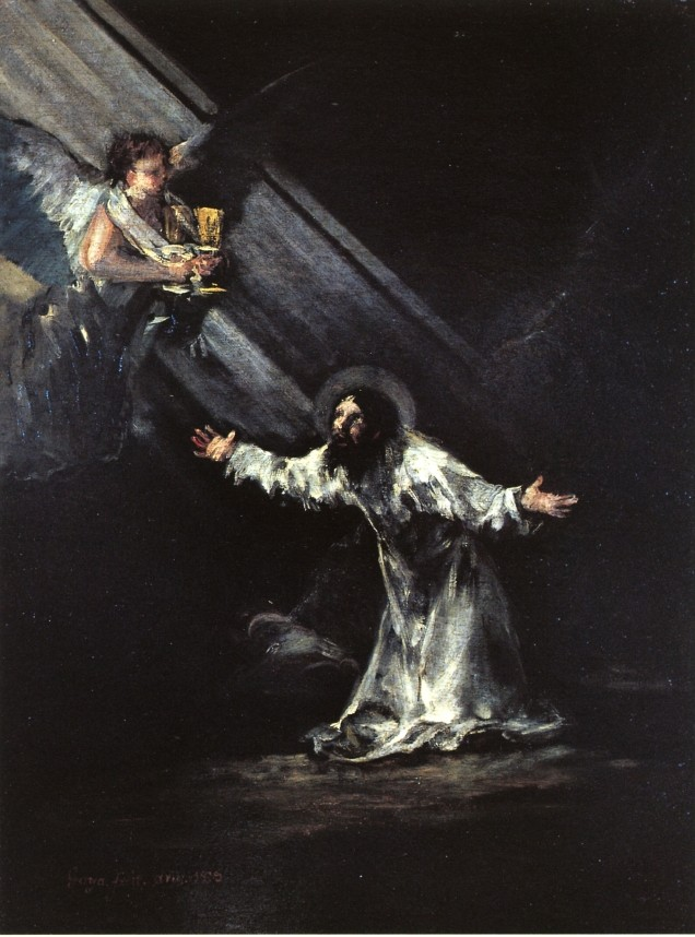 Christ On The Mount Of Olives by Francisco José de Goya y Lucientes