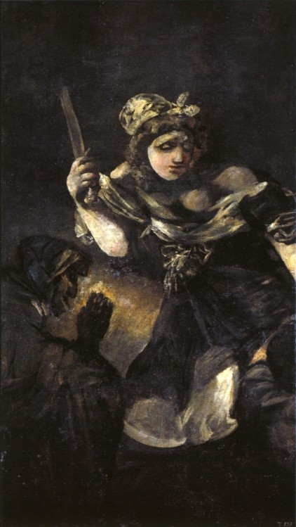 Judith And Holovernes by Francisco José de Goya y Lucientes