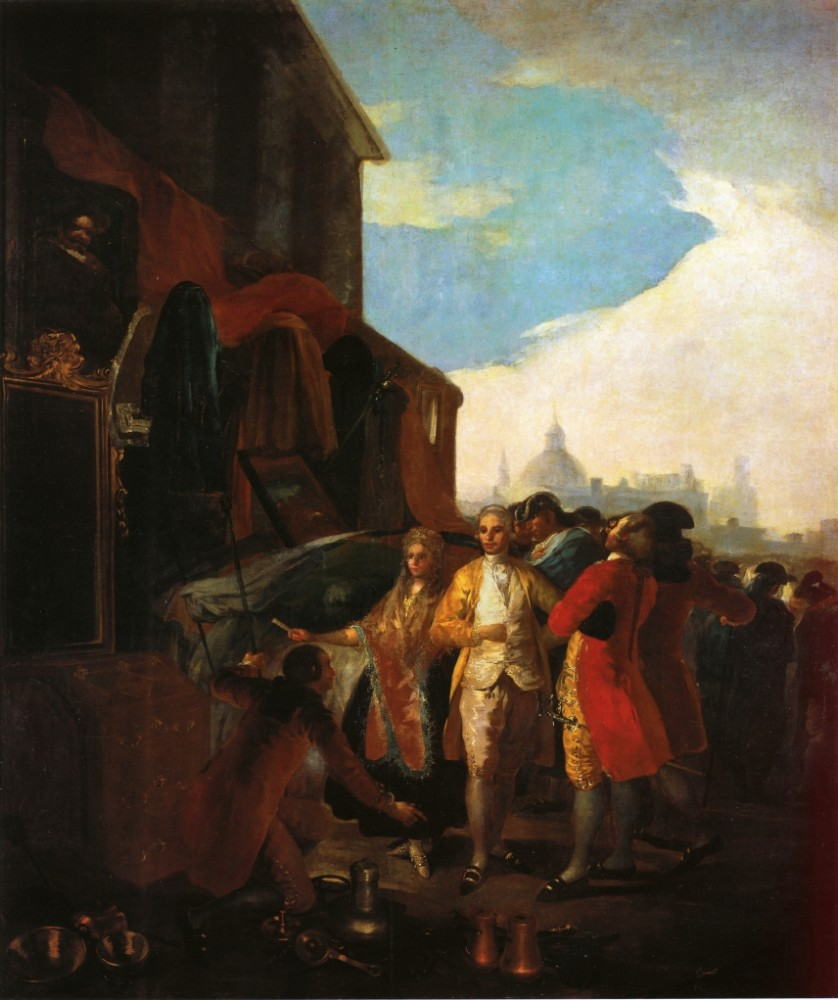 The Fair At Madrid by Francisco José de Goya y Lucientes
