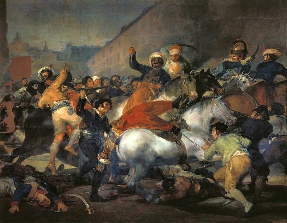 The Second Of May 1808 by Francisco José de Goya y Lucientes