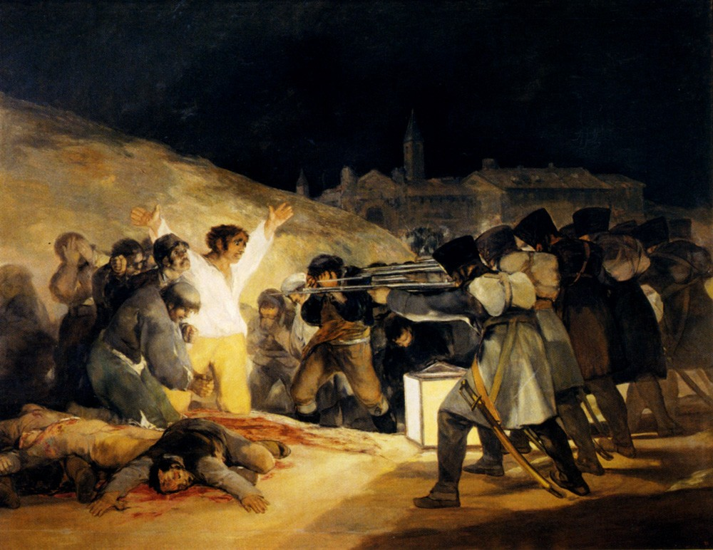 May 3 by Francisco José de Goya y Lucientes