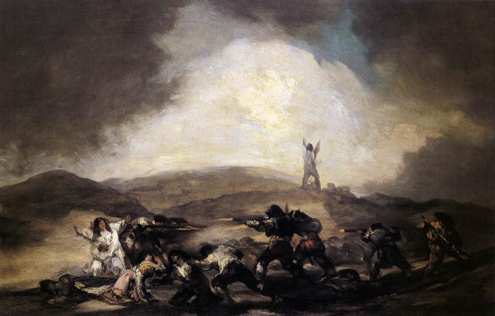 Robbery by Francisco José de Goya y Lucientes