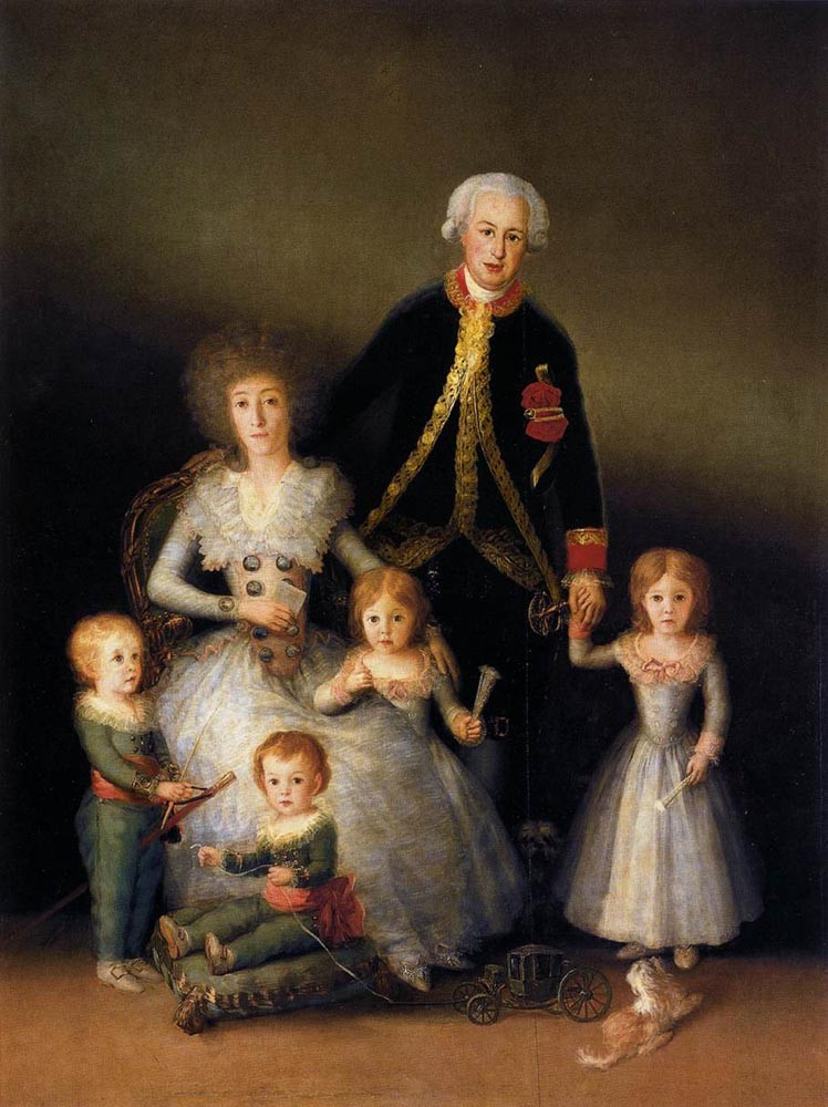 The Family Of The Duke Of Osuna by Francisco José de Goya y Lucientes
