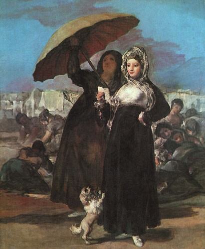 Young Majas by Francisco José de Goya y Lucientes