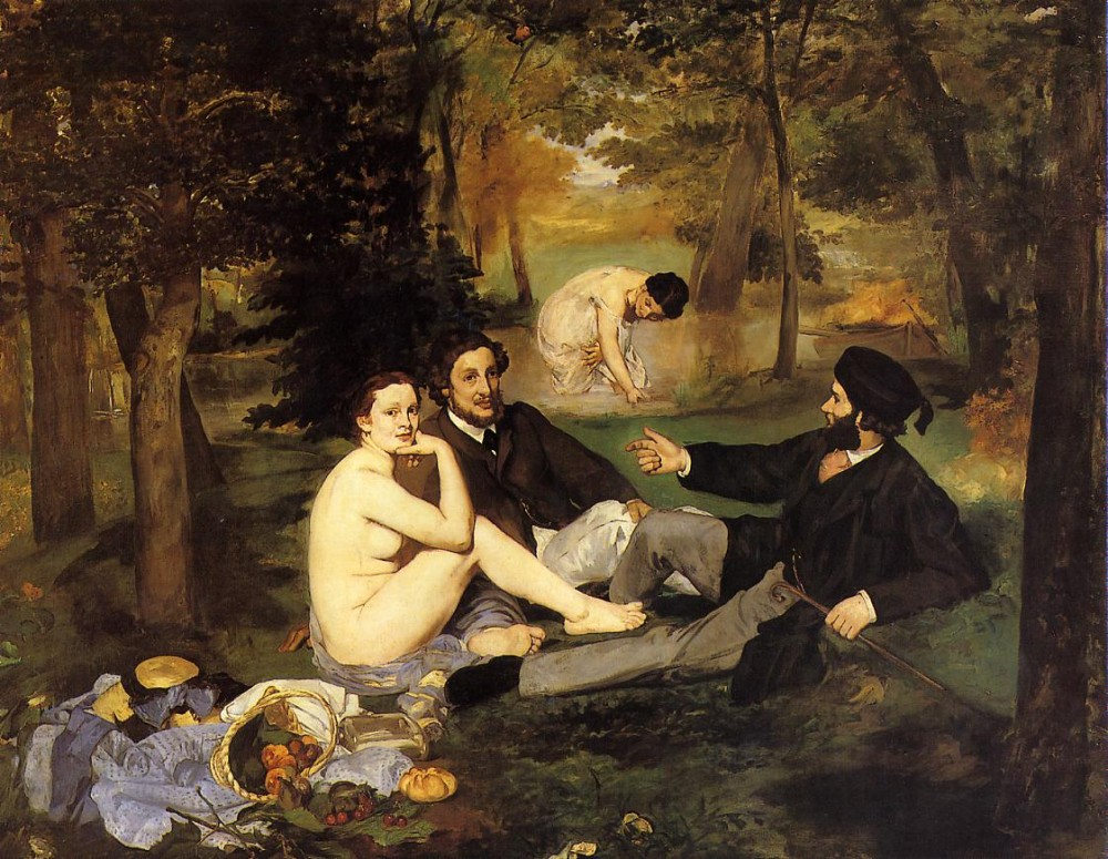 Luncheon On The Grass by Édouard Manet