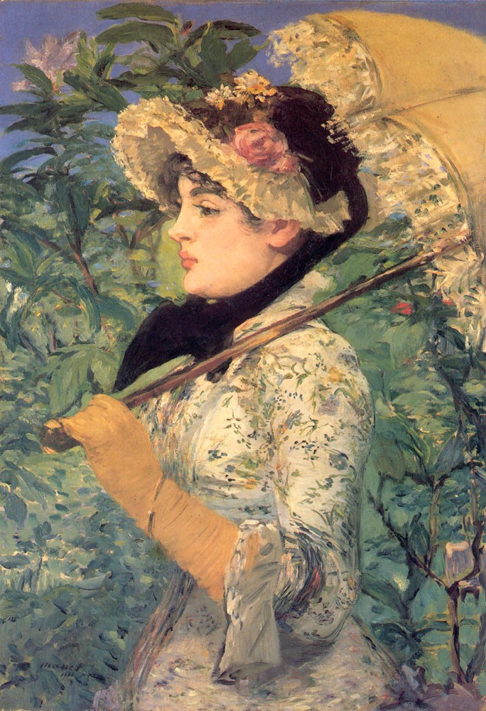 Spring by Édouard Manet