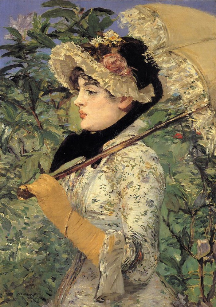 Jeanne Spring by Édouard Manet
