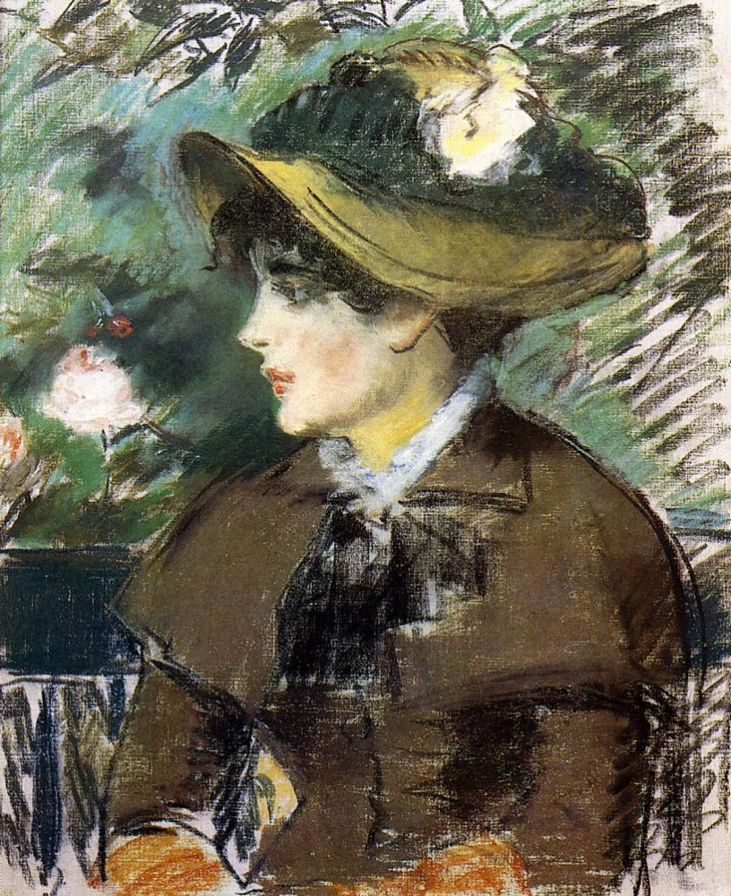 On The Bench by Édouard Manet