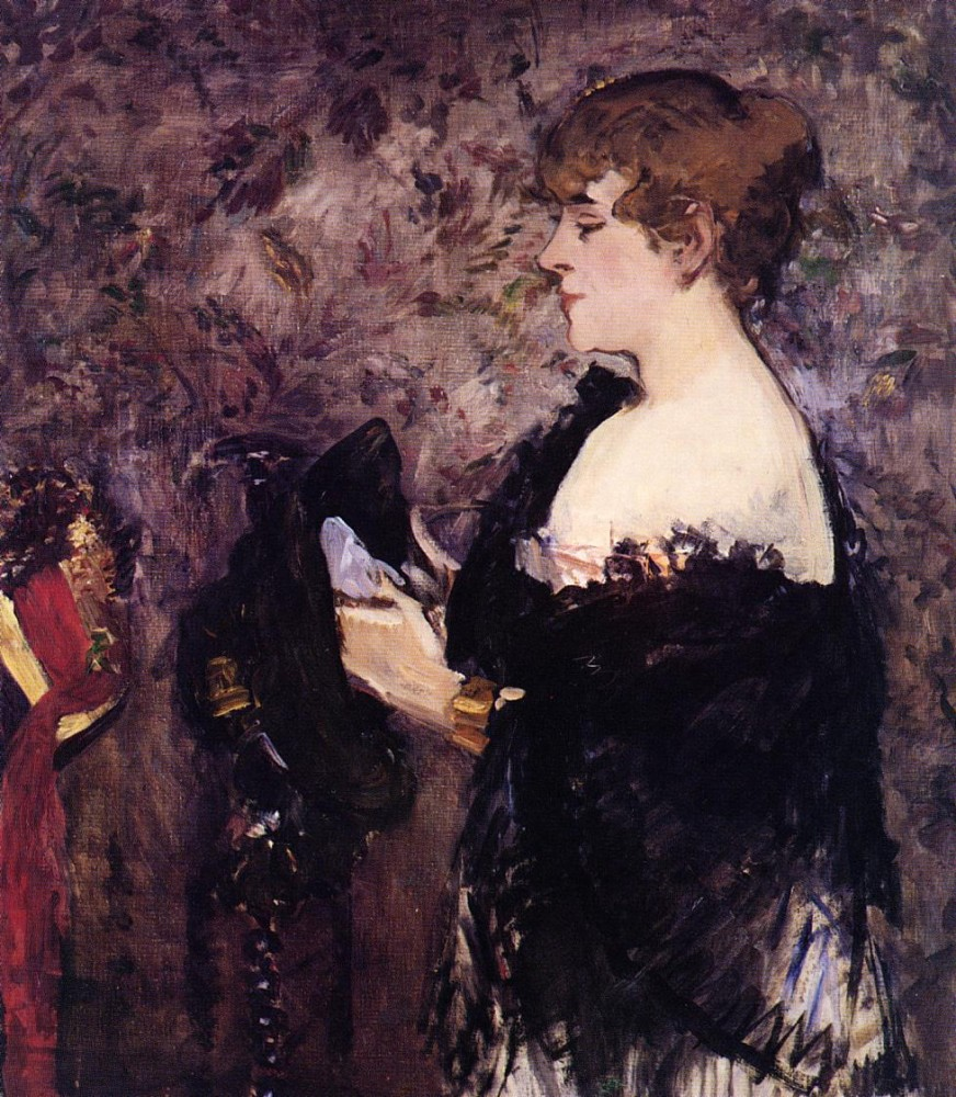 The Milliner by Édouard Manet