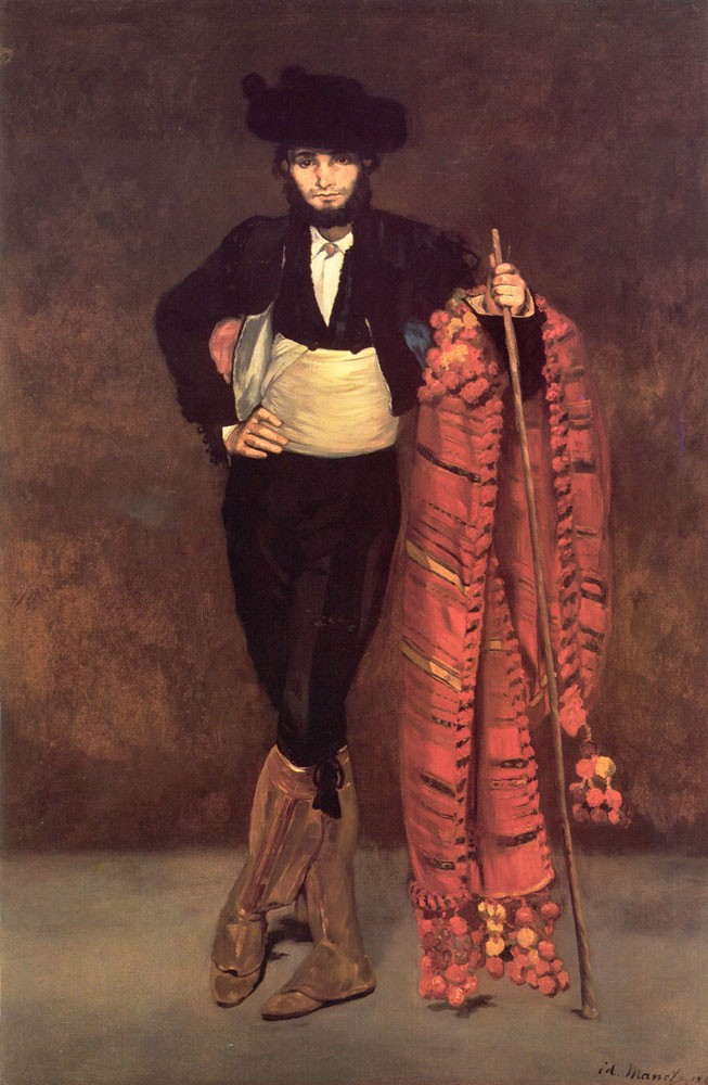 Young Man in the Costume of a Majo by Édouard Manet