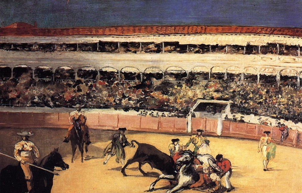Bullfight by Édouard Manet