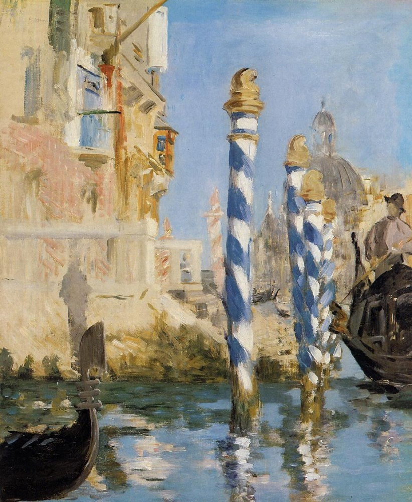 The Grand Canal Venice Ii by Édouard Manet
