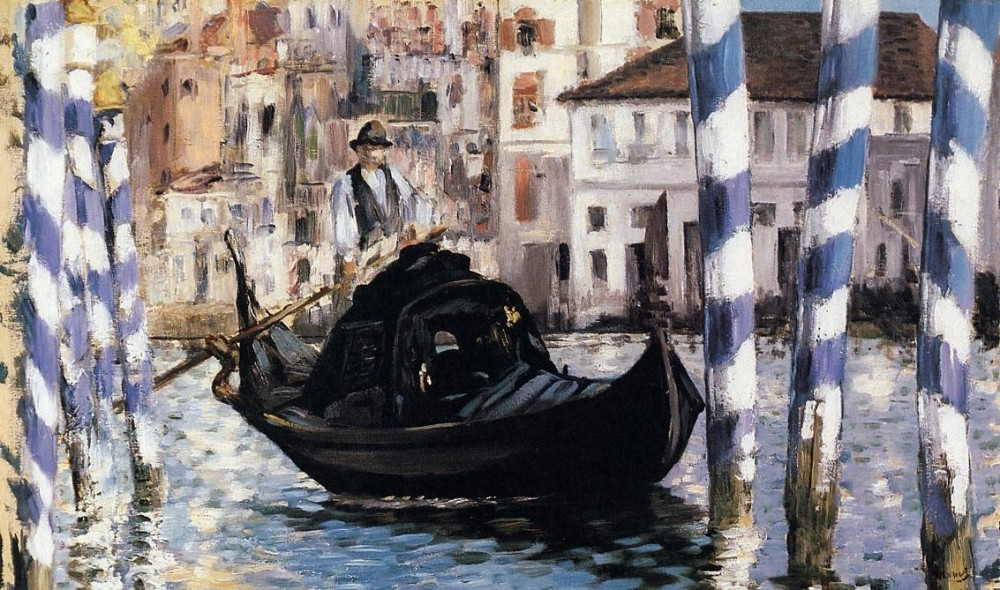 The Grand Canal Venice by Édouard Manet