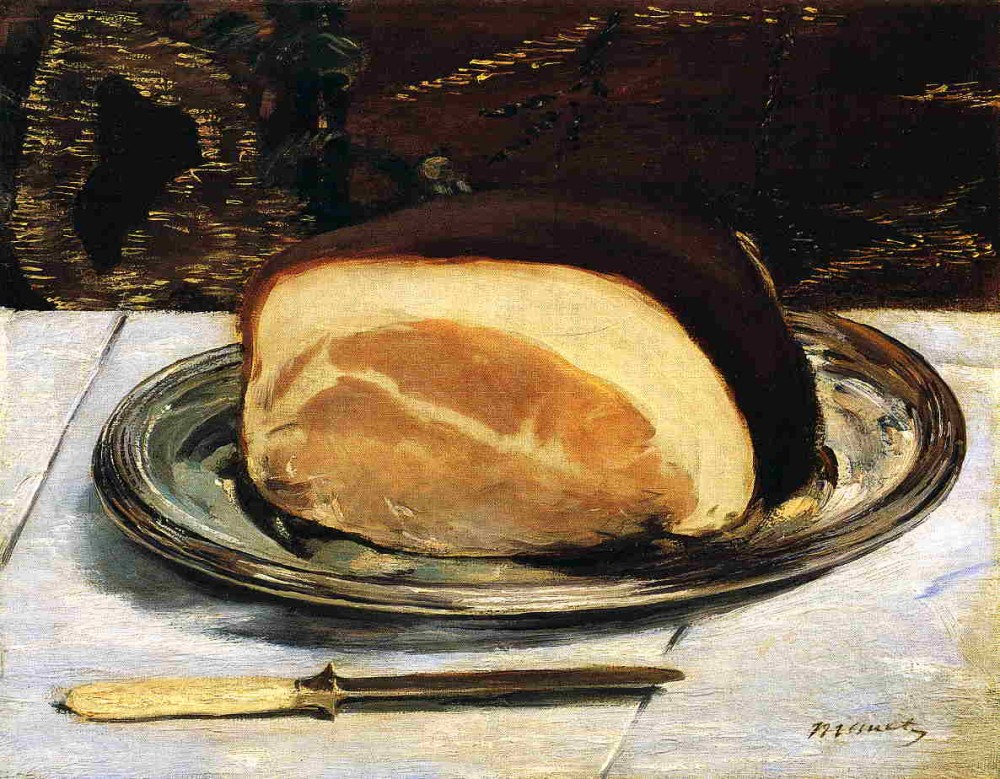 The Ham by Édouard Manet