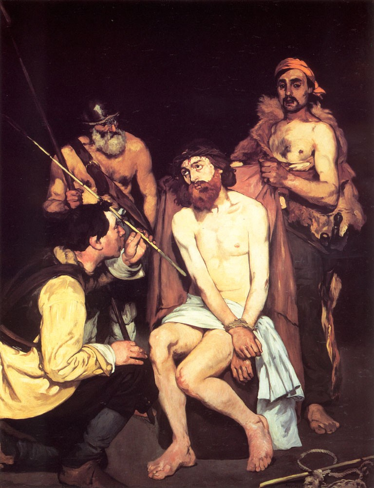 Jesus Mocked by the Soldiers by Édouard Manet