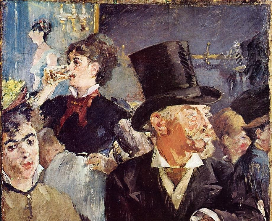 Cafe Concert by Édouard Manet