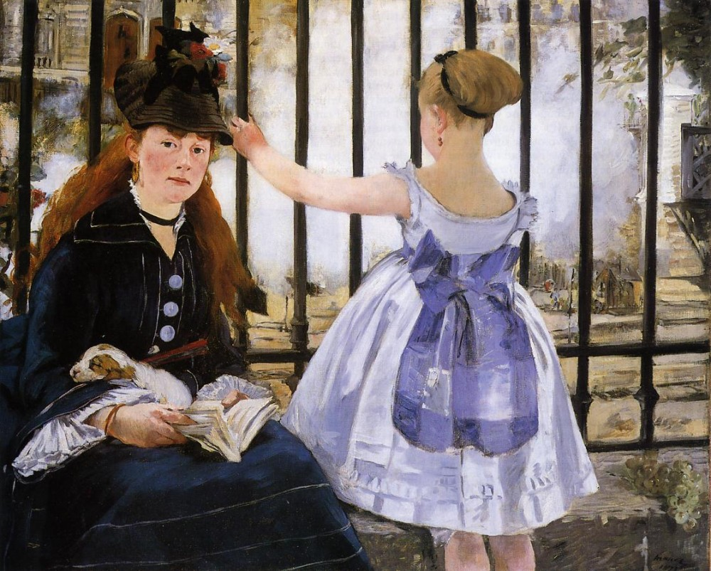 The Railroad by Édouard Manet