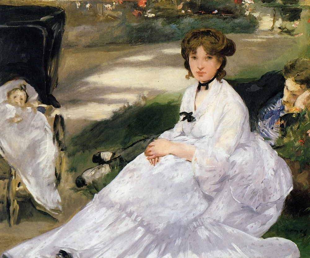 In The Garden by Édouard Manet