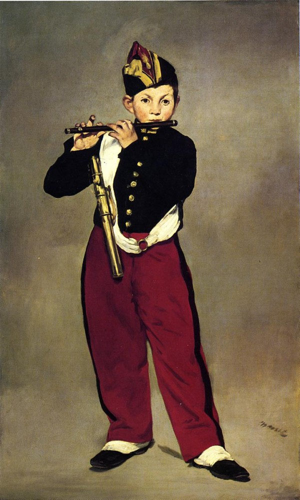 The Fifer by Édouard Manet