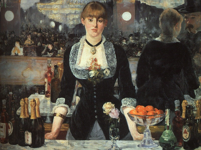 The Bar at the Folies Bergère by Édouard Manet