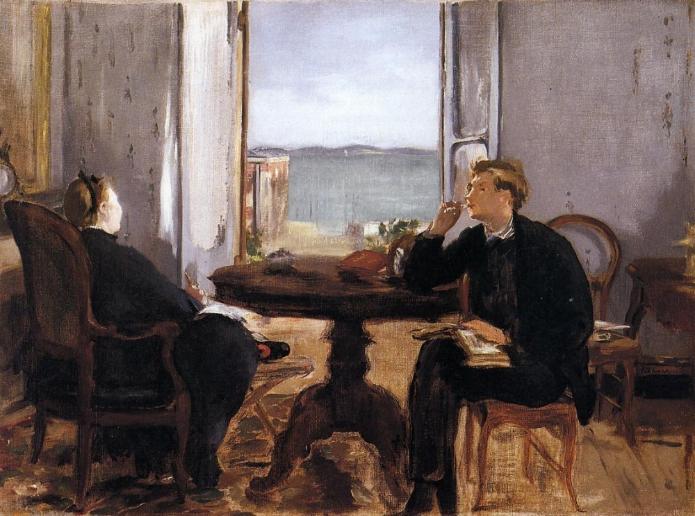 Interior At Arcachon by Édouard Manet