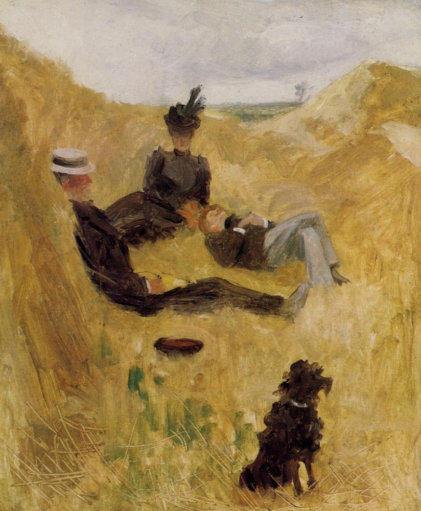 Party In The Country by Henri de Toulouse-Lautrec