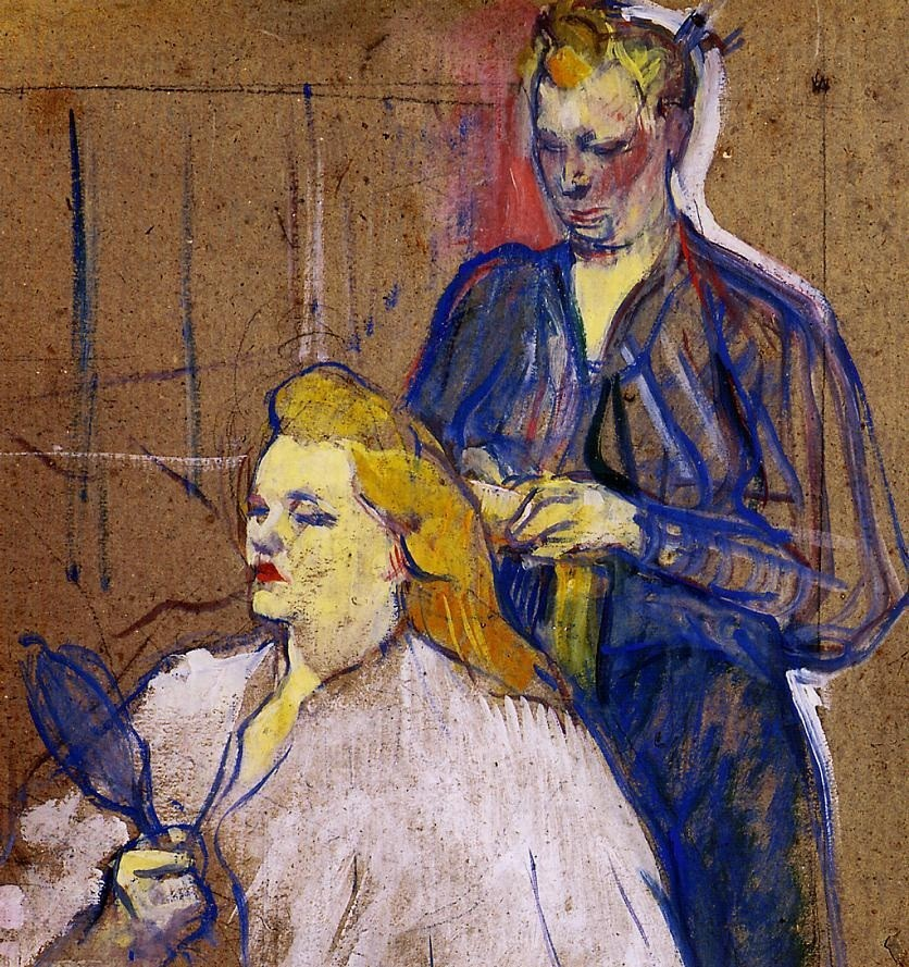 The Haido by Henri de Toulouse-Lautrec