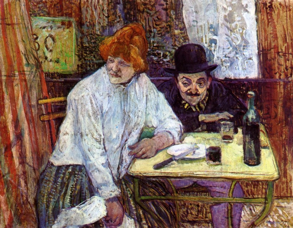 The Last Crunbs by Henri de Toulouse-Lautrec