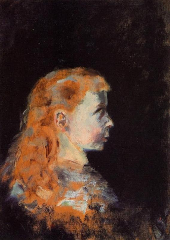 Portrait Of A Child by Henri de Toulouse-Lautrec