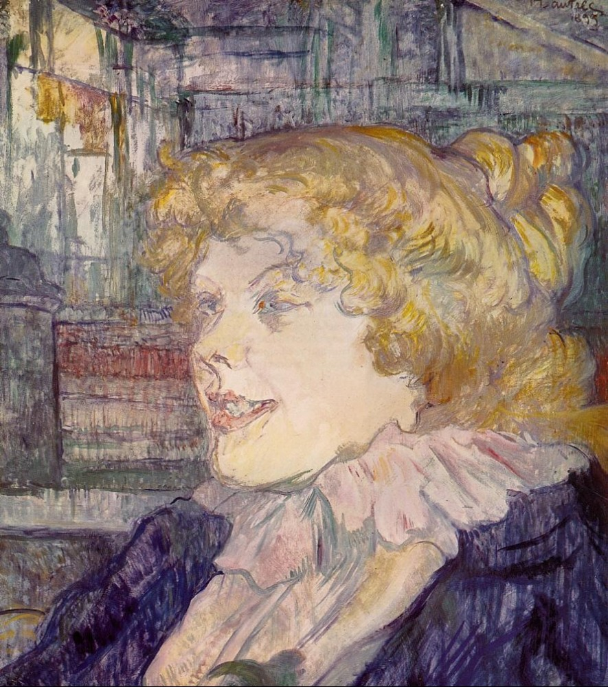 The English Girl From The Star Le Havre by Henri de Toulouse-Lautrec