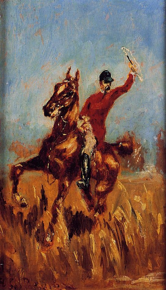 Master Of The Hunt by Henri de Toulouse-Lautrec