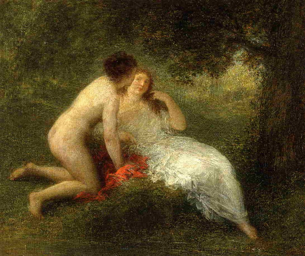 Bathers aka The Secret by Henri Fantin-Latour