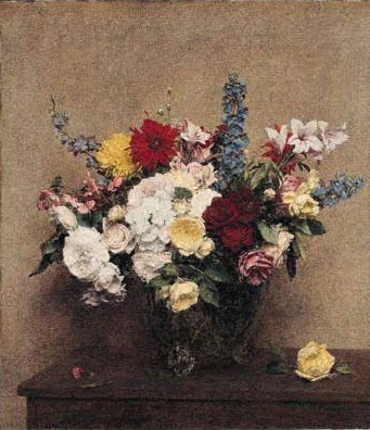 The Rosy Wealth of June by Henri Fantin-Latour