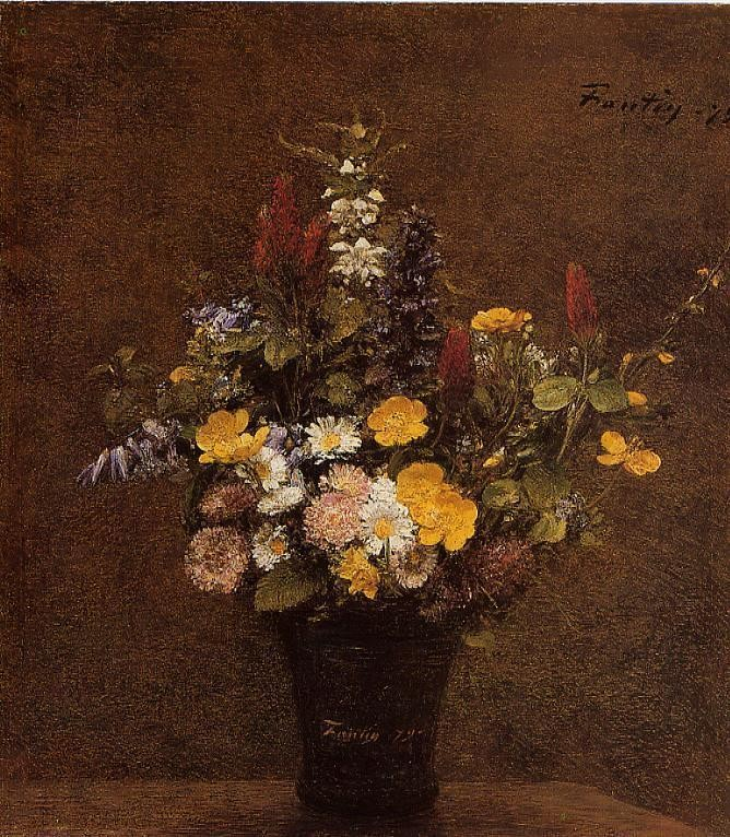 Wildflowers by Henri Fantin-Latour
