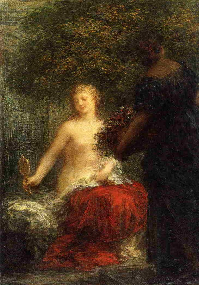 Woman at Her Toillette by Henri Fantin-Latour