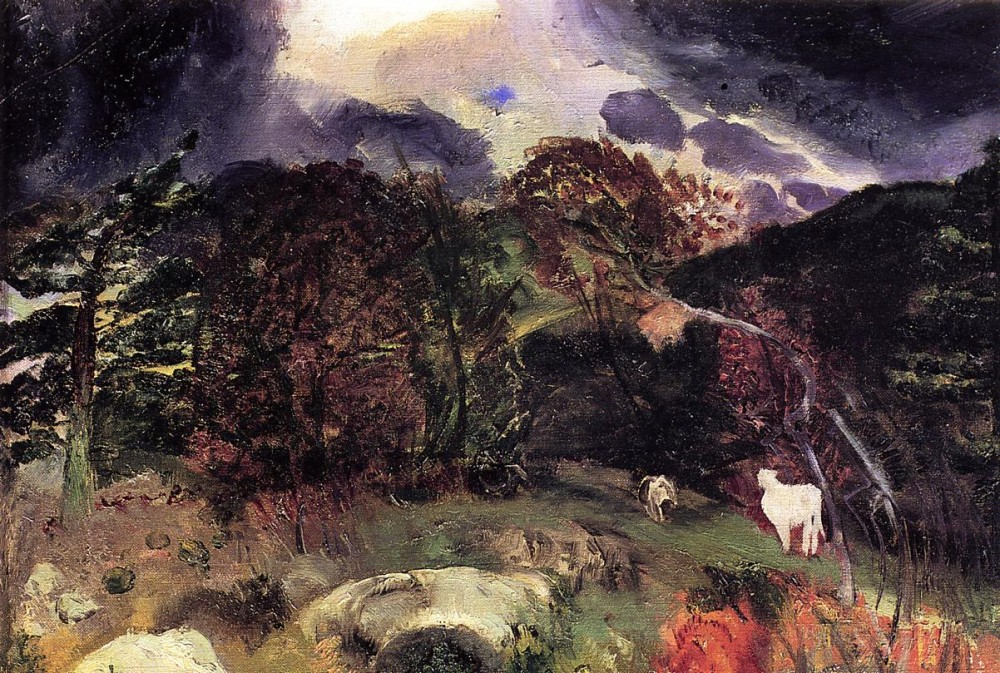 A Wild Place by George Wesley Bellows
