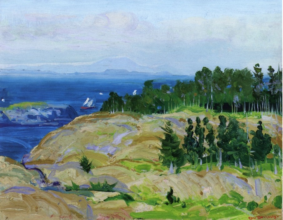 In Virginia by George Wesley Bellows