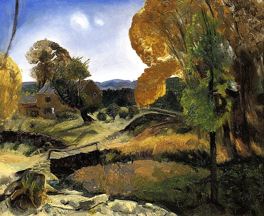 Matinicus Fom Mt by George Wesley Bellows