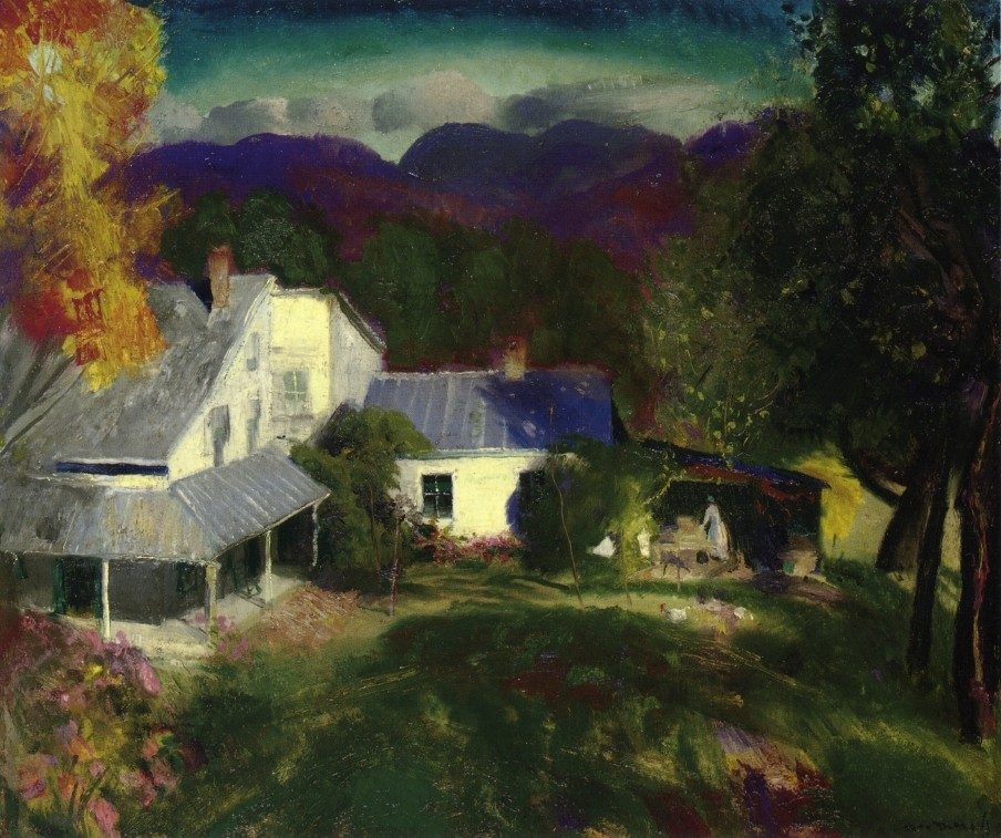 New York by George Wesley Bellows