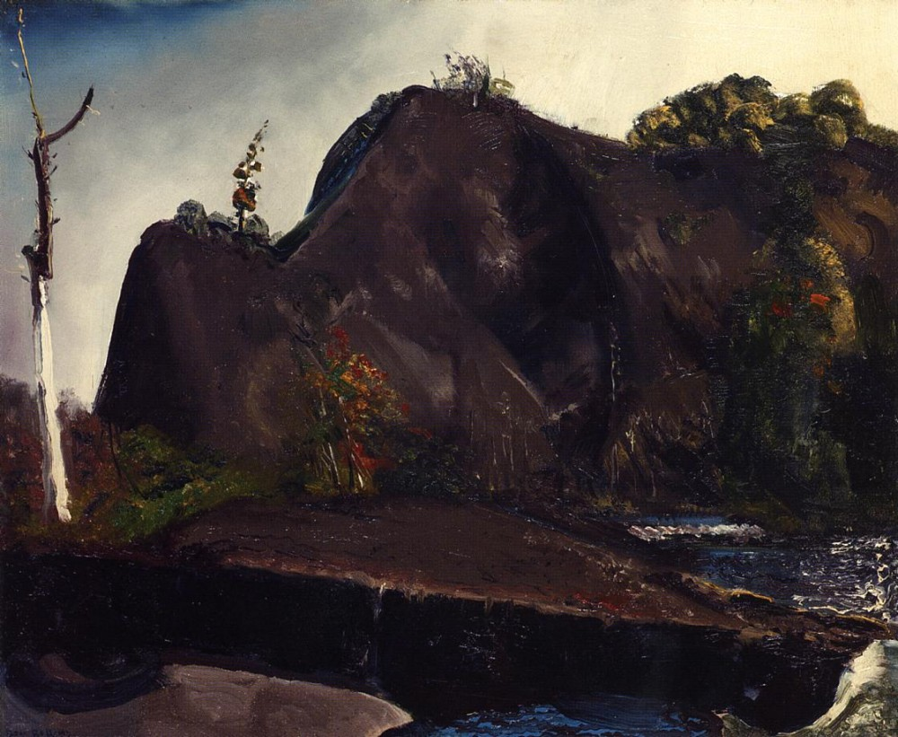 Rain On The River by George Wesley Bellows