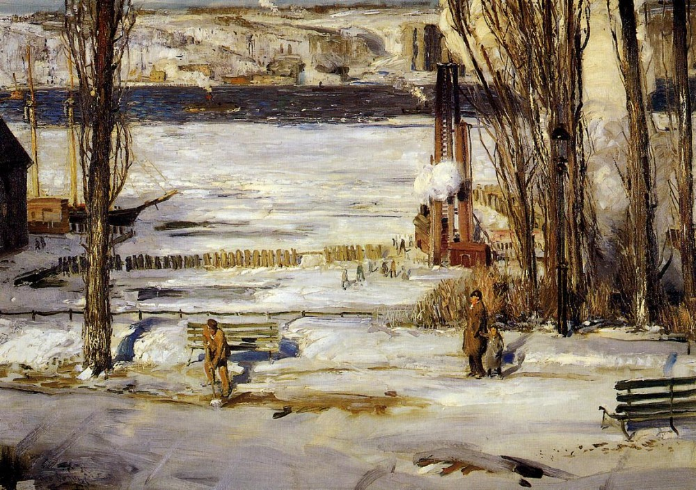 Floating Ice by George Wesley Bellows