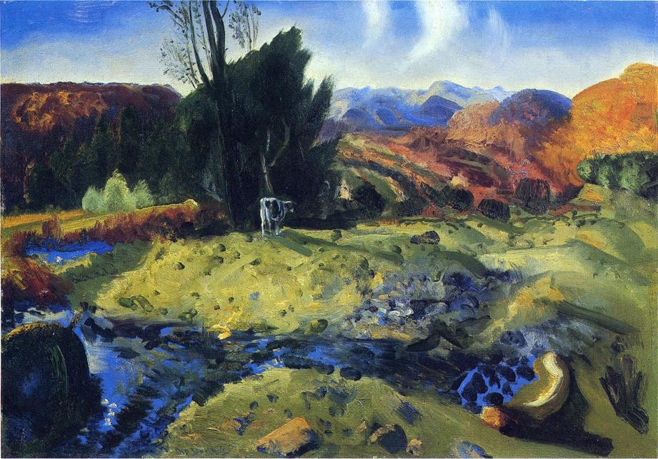 North River by George Wesley Bellows