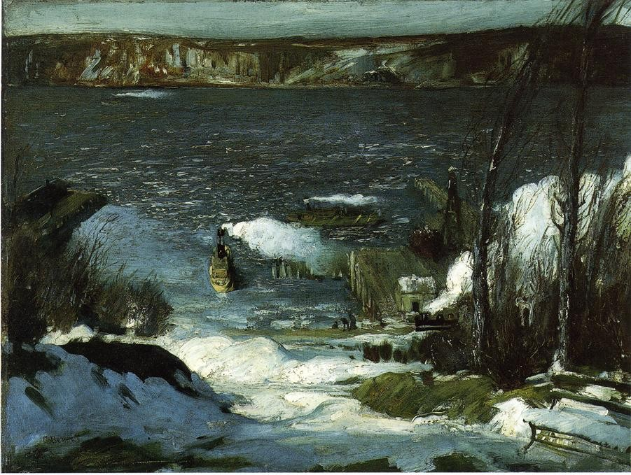 Approach Of Rain by George Wesley Bellows