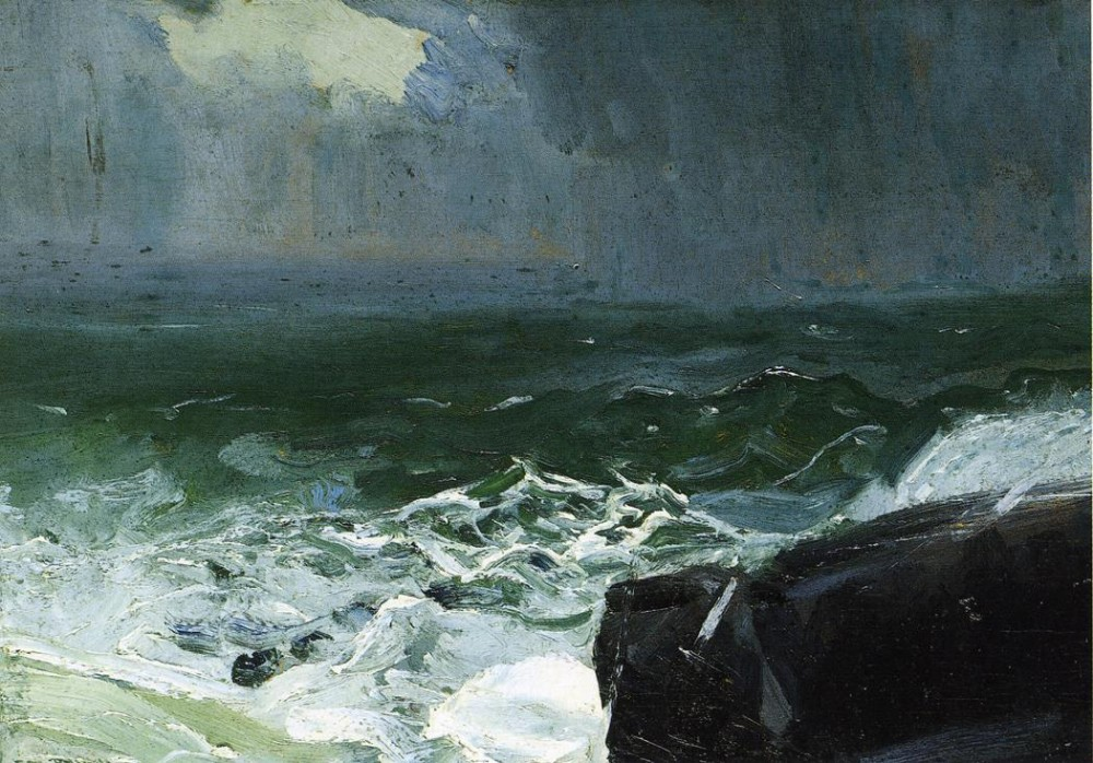 Builders Of Ships by George Wesley Bellows